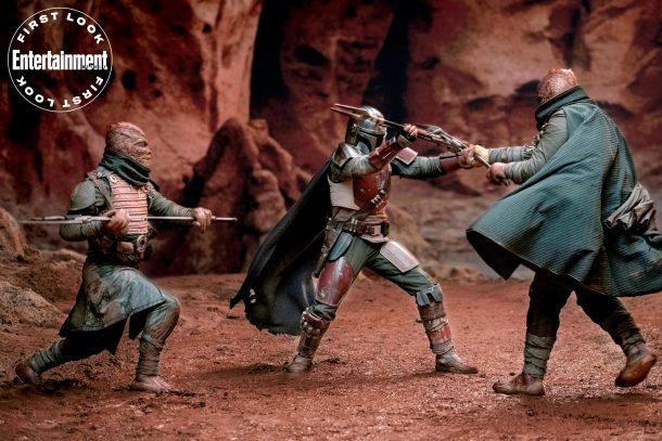 The Mandalorian Fights Trandoshans