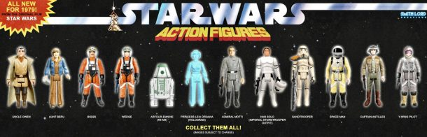 Smith Lord Creations Kenner Figures