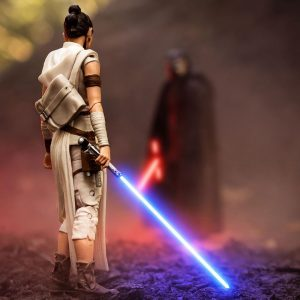 Black Series Rey and Kylo