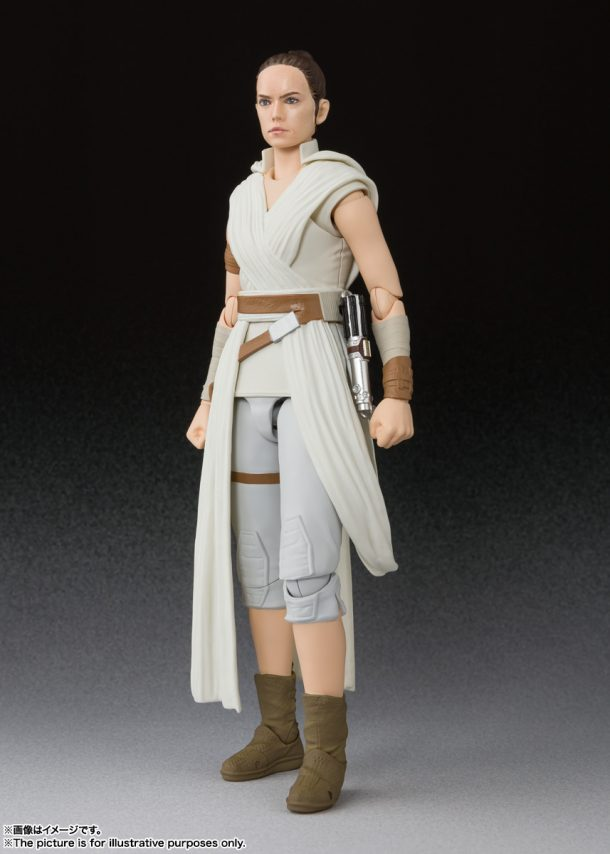 SH Figuarts Rise of Skywalker Rey