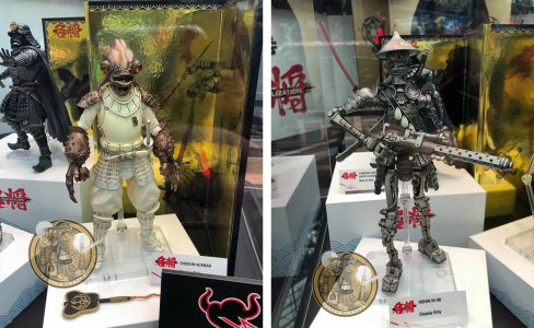 Bandai Star Wars Movie Realization Ackbar and IG-88
