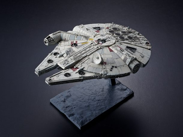 Bandai Rise of Skywalker Millennium Falcon