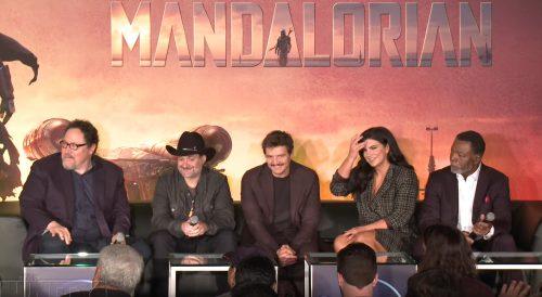 Mandalorian Press Conference