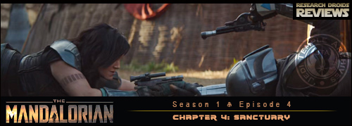 "The Mandalorian Chapter 4 ""Sanctuary"""