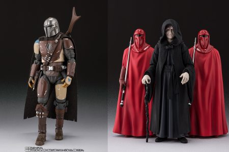 SH Figuarts Mandalorian and Emperor with Royal Guards