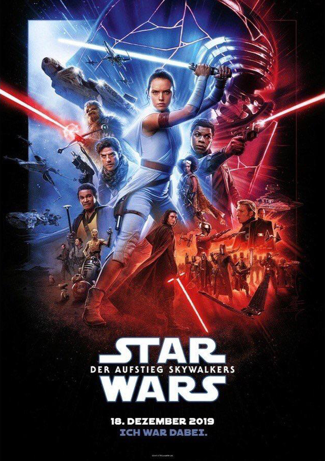 Rise of Skywalker German Poster