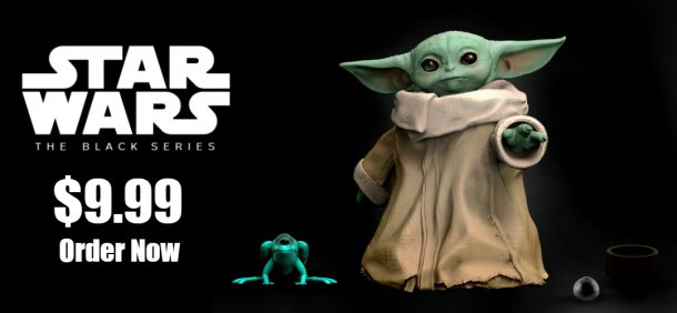 Hasbro The Black Series Baby Yoda