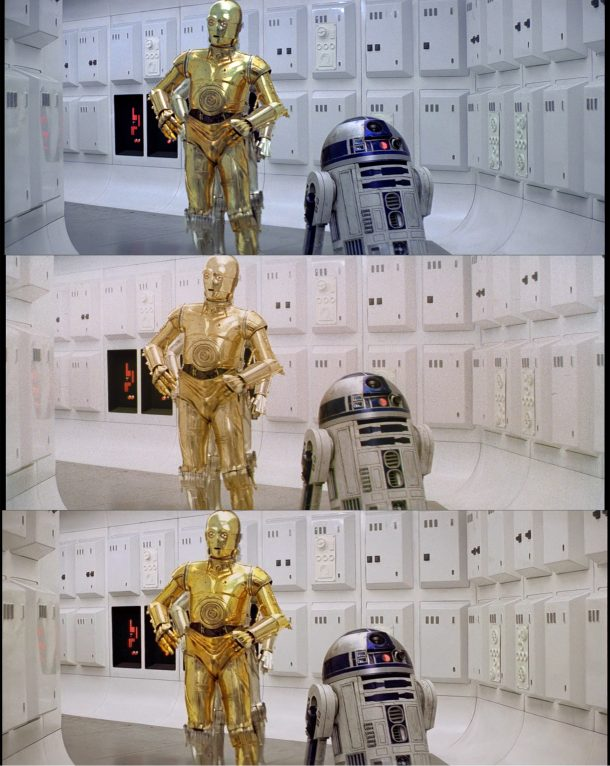 A New Hope Comparison