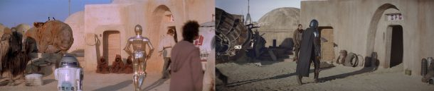 Tatooine: A New Hope vs The Mandalorian