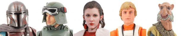 Star Wars figures released in 2019