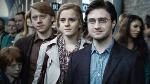 Harry Potter, Ron and Hermione Weasley