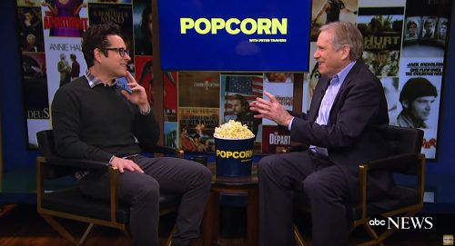 JJ Abrams and Peter Travers