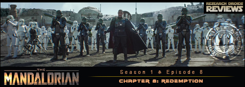 The Mandalorian S01E08 Redemption