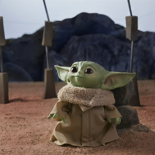 Hasbro Talkingh Plush Baby Yoda