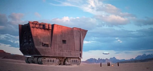 The Rise of Skywalker Sandcrawler