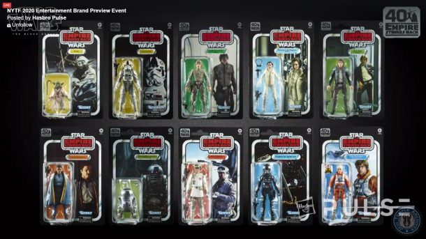 Black Series The Empire Strikes Back Line