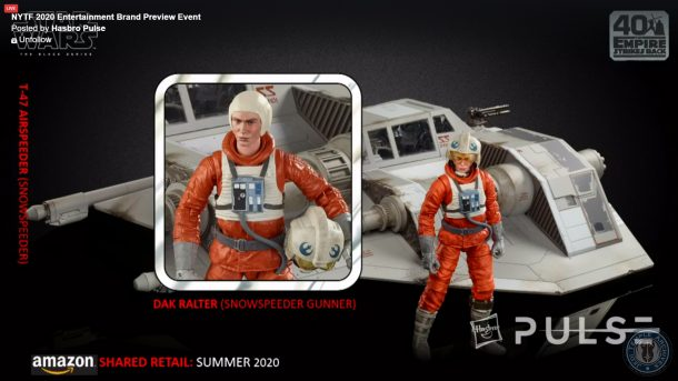Black Series Snowspeeder