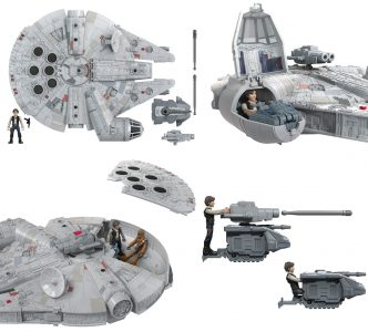 Star Wars: Mission Fleet Millennium Falcon