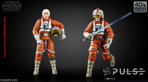 Black Series Snowspeeder Luke