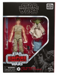 The Black Series Luke Skywalker and Yoda