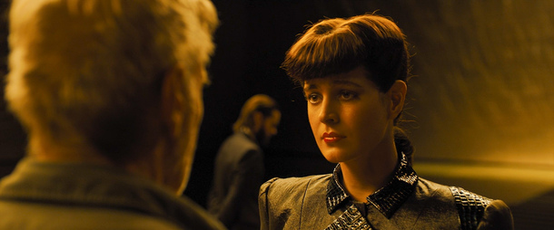 CGI Rachel in Blade Runner