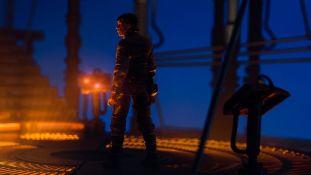 Carbon Freezing Chamber and Luke by Matthew Cohen