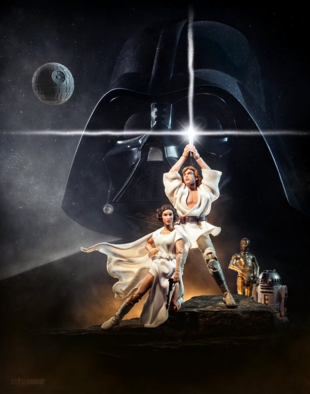A New Hope Toy Photo Poster. Credit: Trevor W.