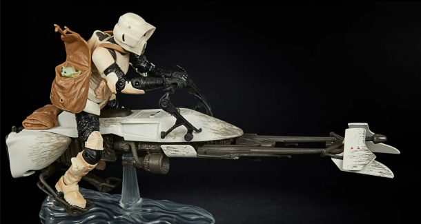 The Black Series Biker Scout