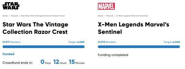 Star Wars vs Marvel HasLab