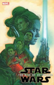 Marvel The Rise of Skywalker Comic Book Cover