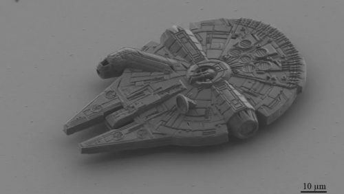 Microlight3D 3D printed Millennium Falcon