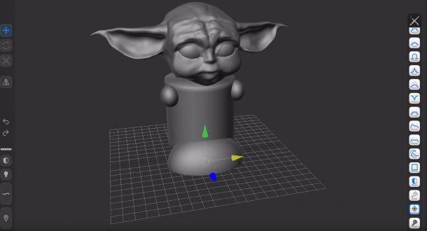 Boylei Hobby Time 3D Baby Yoda