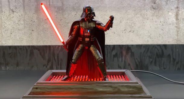 Boylei Hobby Time Custom Darth Vader Display