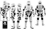 First Order Flametrooper (MMS326) - Hot Toys - 1:6 Scale Figures (2016)