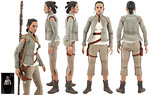 Rey (Resistance Outfit) (MMS377) - Hot Toys - 1:6 Scale Figures (2016)