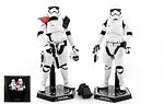 First Order Stormtrooper Officer & Stormtrooper (MMS335) - Hot Toys - 1:6 Scale Figures (2016)
