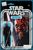 Darth Maul figure variant cover by John Tyler Christopher