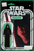 Darth Sidious figure variant cover by John Tyler Christopher