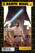 Star Wars 40th Anniversary variant cover by Paul Renaud