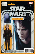 Action figure variant cover by John Tyler Christopher