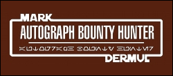Autograph Bounty Hunter