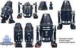 R4-D6 (Build A Droid) - Hasbro - The Legacy Collection (2008)
