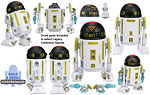 R7-Z0 (Build A Droid) - Hasbro - The Legacy Collection (2008)