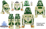 R4-J1 (Build A Droid) - Hasbro - The Legacy Collection (2008)