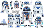 R7-T1 (Build A Droid) - Hasbro - The Legacy Collection (2008)