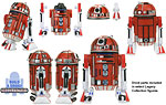 R2-L3 (Build A Droid) - Hasbro - The Legacy Collection (2009)