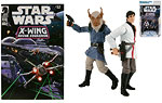 Wedge Antilles / Borsk Fey'lya (Star Wars: X-Wing Rogue Squadron #32) - Hasbro - The Legacy Collection (2009)