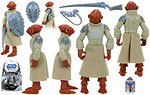 Mon Calamari Warrior (BD 14) - Hasbro - The Legacy Collection (2008)
