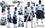 Clone Trooper (BD 16) [Cip-Quad Cannon] - Hasbro - The Legacy Collection (2008)