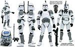 Clone Trooper (Coruscant Landing Platform) (BD 17) - Hasbro - The Legacy Collection (2008)